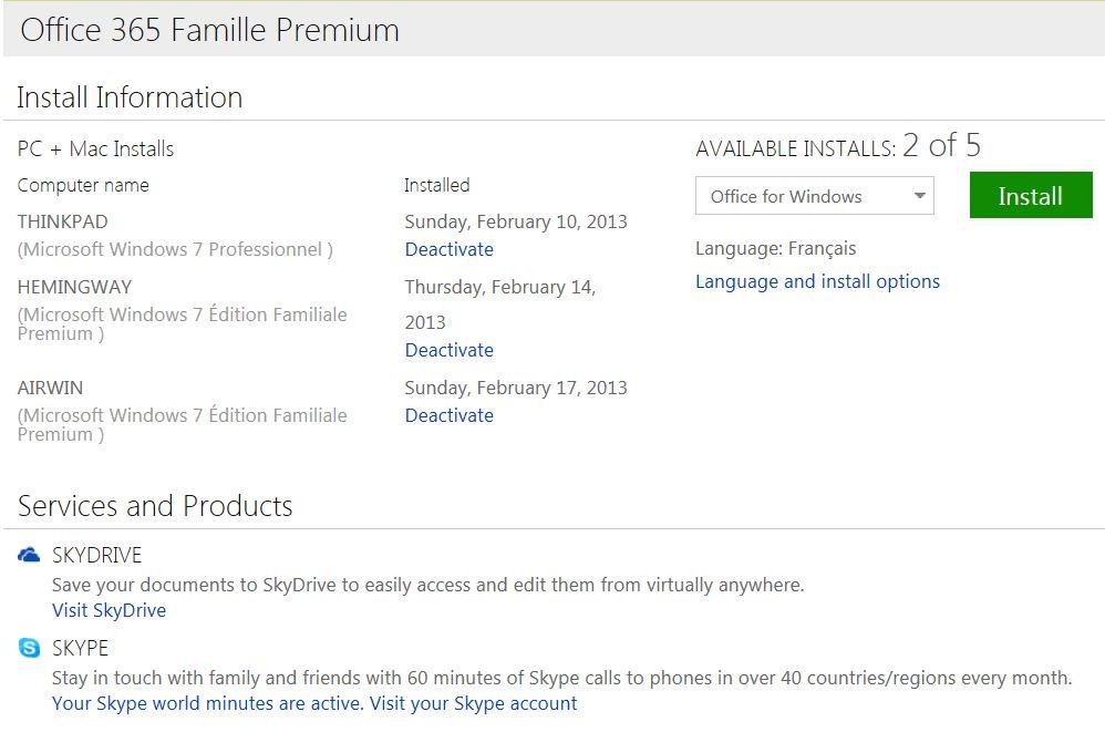 Comment installer office sur ipad la r ponse est sur - Office 365 famille premium cle gratuit ...