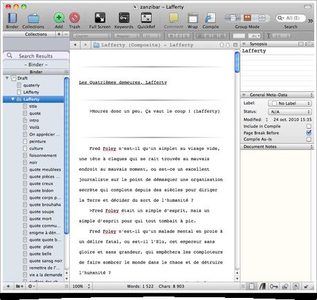 Scrivener 2