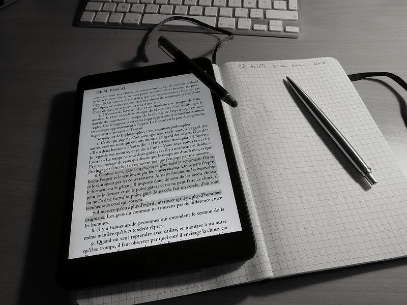 iPad et grand Moleskine